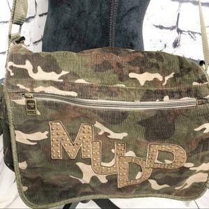Mudd camouflage book bag